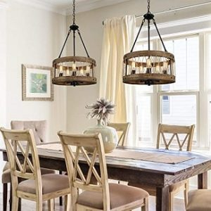Rustic Chandeliers for Dining Room