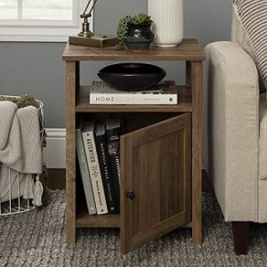 Rustic End Tables With Storage