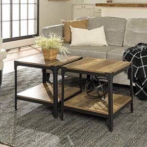 Rustic End Table Sets