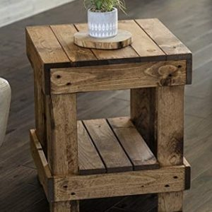 Rustic Basic End Tables