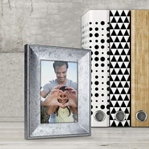 Rustic Metal Picture Frames