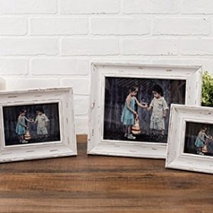 White Rustic Picture Frames